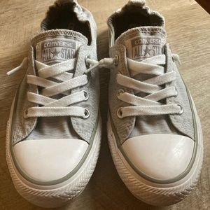 Lightweight chucks with stretchy back
